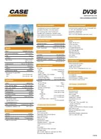 DV36 Specifications
