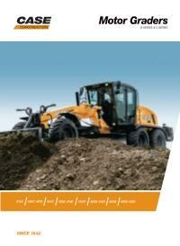Motor Graders | Road Graders | CASE Construction Equipment