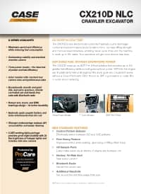 CX210D NLC Brochure