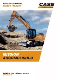 Wheeled Excavators - WX218