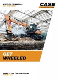 Wheeled Excavators - WX148/WX168