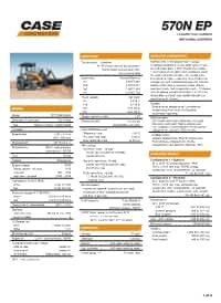 CASE 570N EP Tractor Loader | CASE Construction Equipment