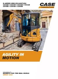 Mini-Excavators - CX26B/CX55B