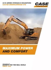 Crawler Excavators - CX210B