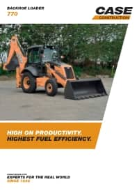 Backhoe Loaders - 770
