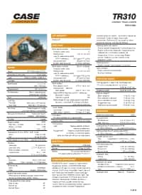 TR310 Specifications