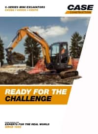 Mini-Excavators - CX26C/CX37C