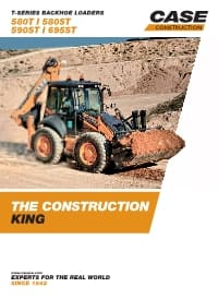 T-Series Backhoe Loaders - 580T/580ST/590ST/695ST