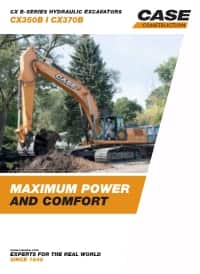Crawler Excavators - CX350B/370B