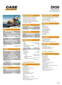 DV26 Specifications