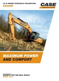 Crawler Excavators - CX290B
