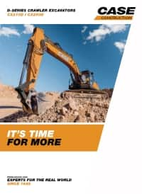 Crawler Excavators - CX210D/CX250D