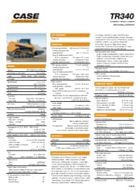 CASE TR340 Compact Track Loader | CASE Construction Equipment