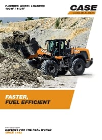 Wheel Loaders - 1021F/1121F