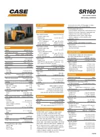 CASE SR160 Skid Steer Loader | CASE Construction Equipment
