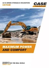 Crawler Excavators - CX700B
