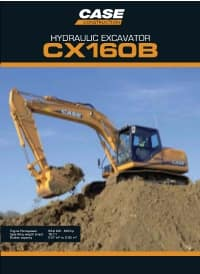 Crawler Excavators - CX160B