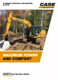 Crawler Excavators - CX130B