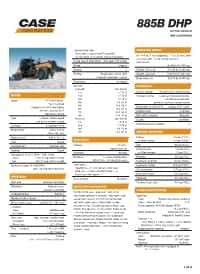 885B Specifications