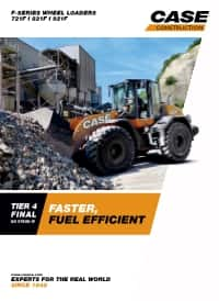 Wheel Loaders - 721F/821F/921F