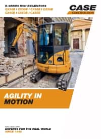 Mini-Excavators - CX26B zts/ CX55B