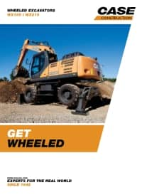 Wheeled Excavators - WX188/WX218
