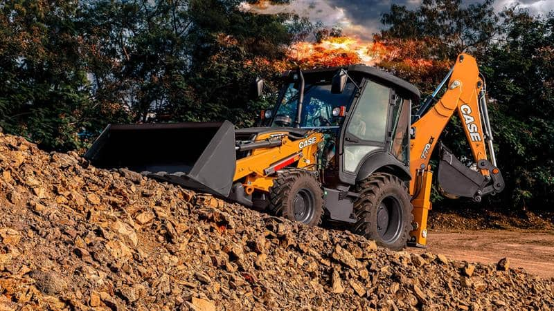 Backhoe Loaders | CASE Construction Equipment (INDIA)
