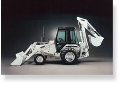CASE celebrates 25th anniversary of the loader/backhoe