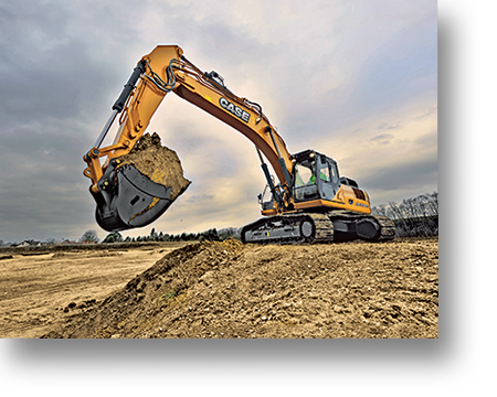CASE enters into new licensing agreement with Sumitomo to manufacture excavators in its plants