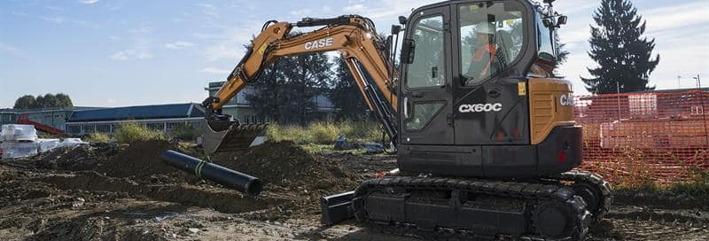 C-Series Mini-Excavators