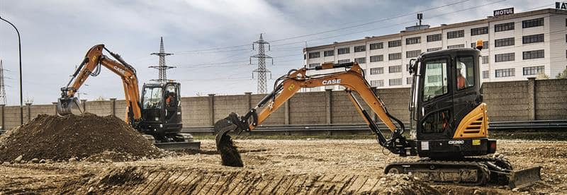 Mini-Excavators | CASE Construction Equipment (UK) | CASE