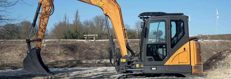 Midi-Excavators | CASE Construction Equipment (UK) | CASE