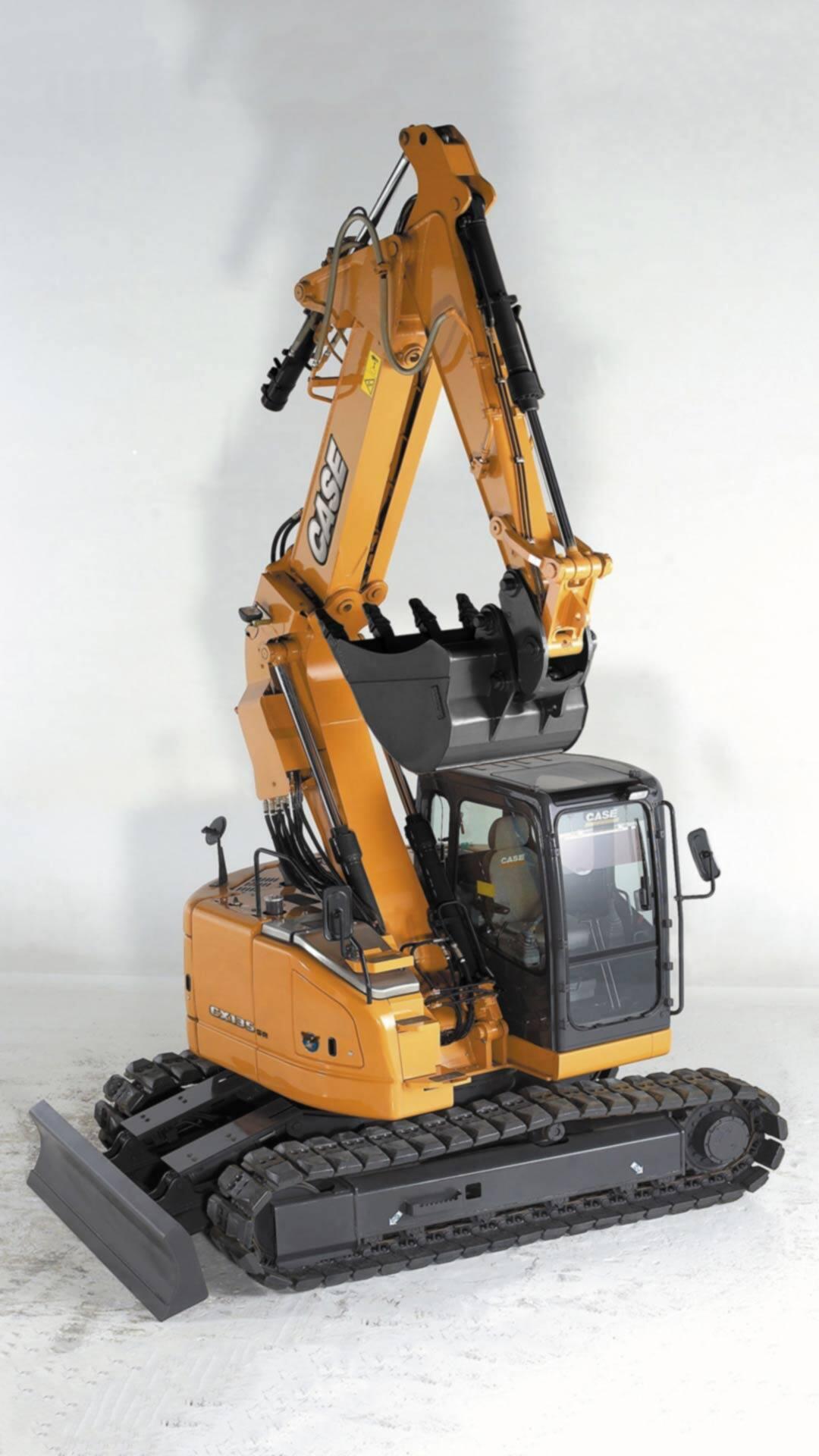 Cx135sr Large Sized Excavator Case