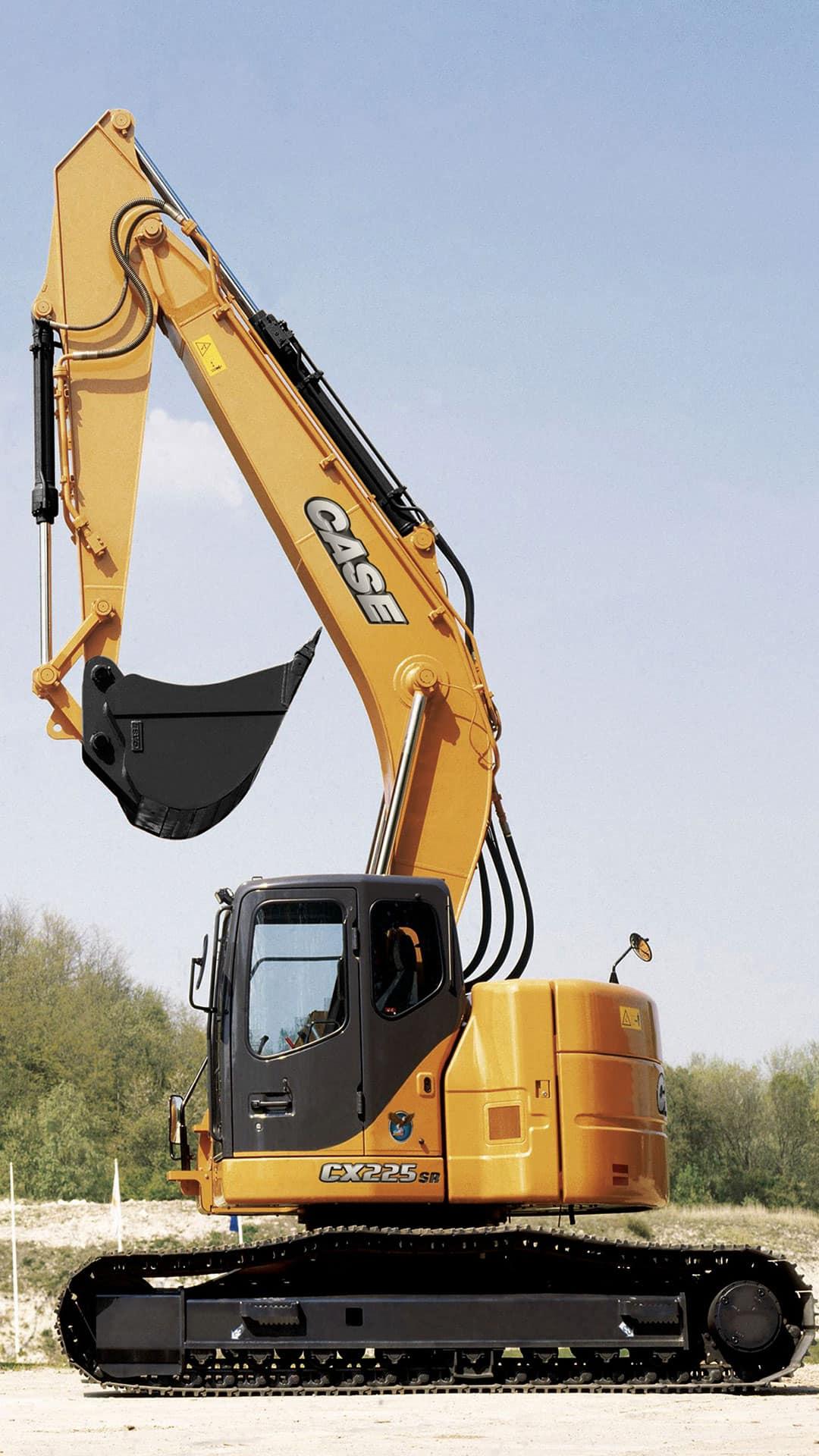 Cx225sr Large Sized Excavator Case