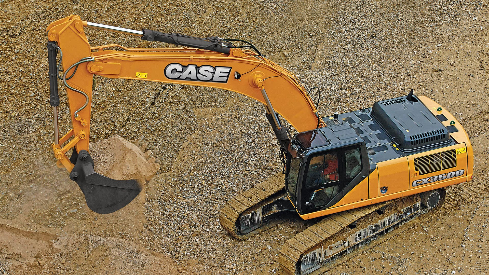 CX350B Large-sized Excavator | CASE