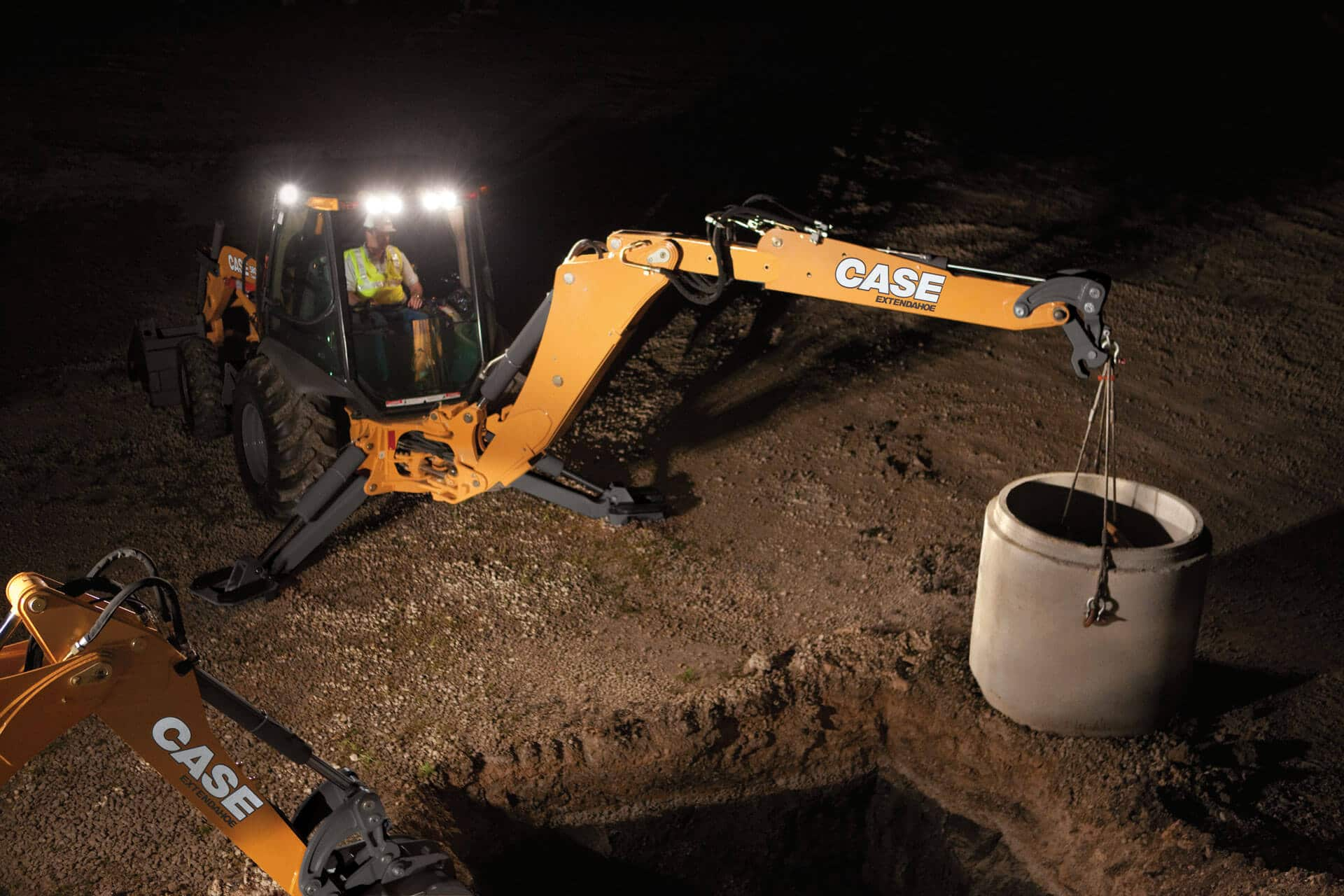 CASE 580 Super N WT Backhoe Loader | CASE Construction Equipment