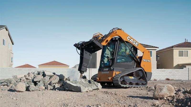 Hydraulic Hammer Attachment | CASE Construction Equipment