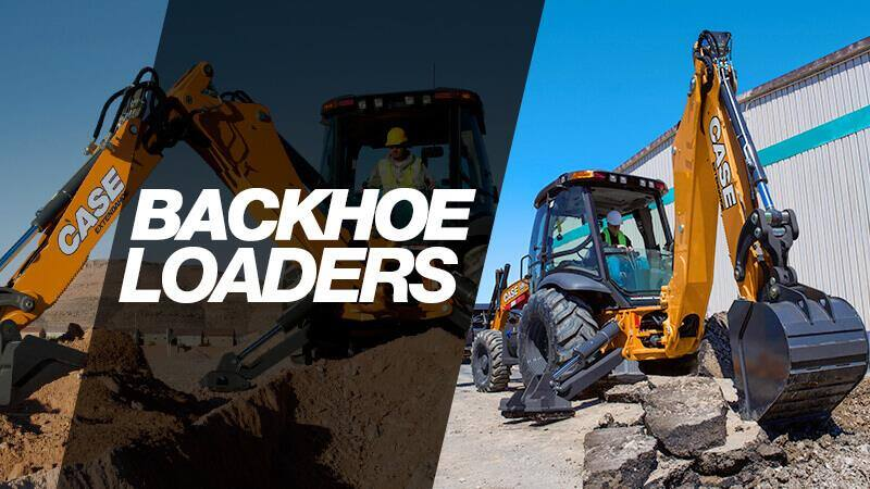 backhoe loaders case construction equipment
