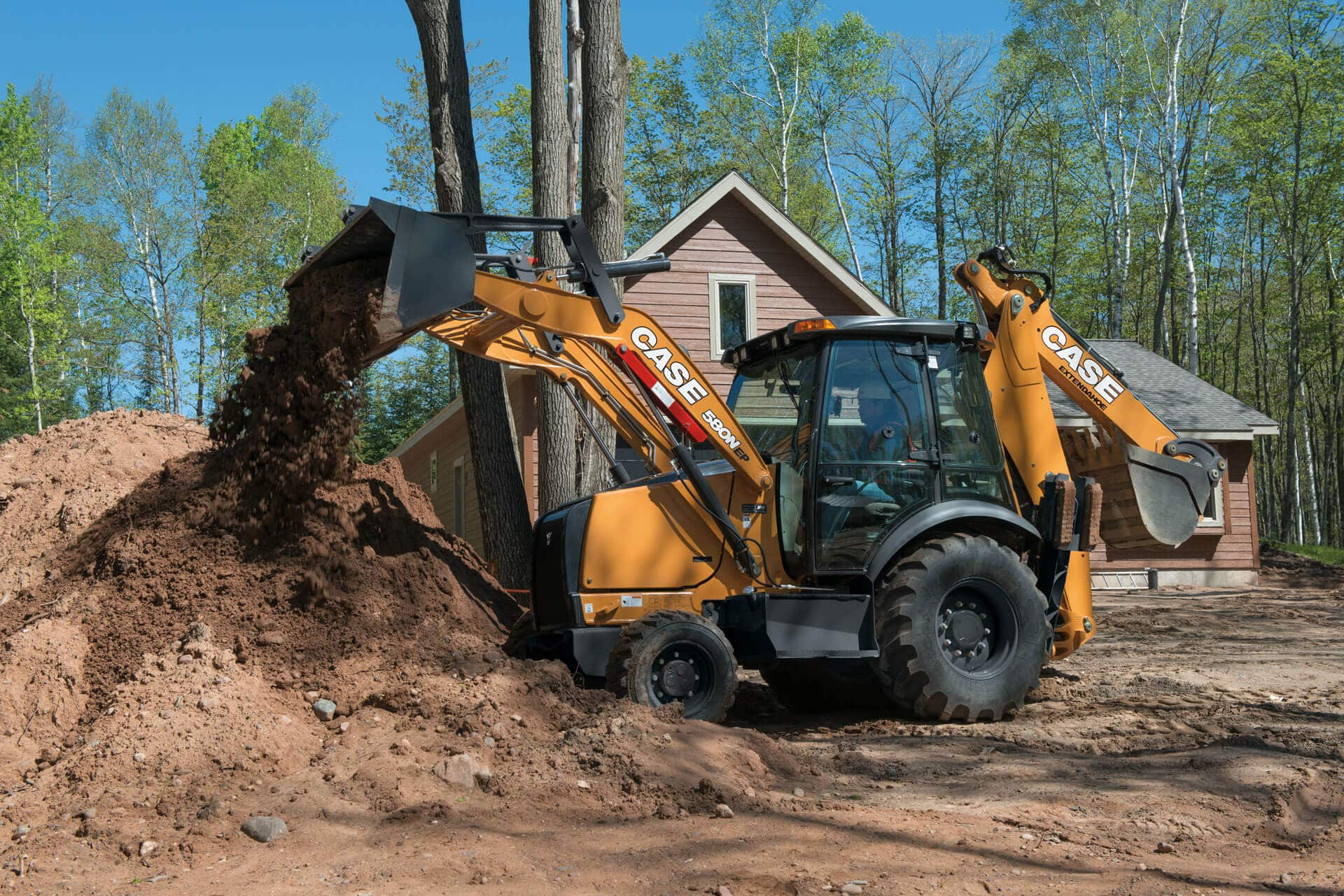 Backhoe Loader Gallery | CASE Construction Equipment