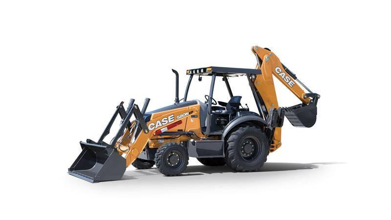 CASE 580N EP Backhoe Loader | CASE Construction Equipment