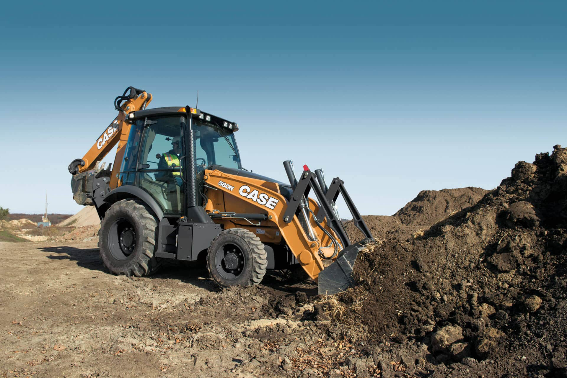 CASE 580N Backhoe Loader | CASE Construction Equipment