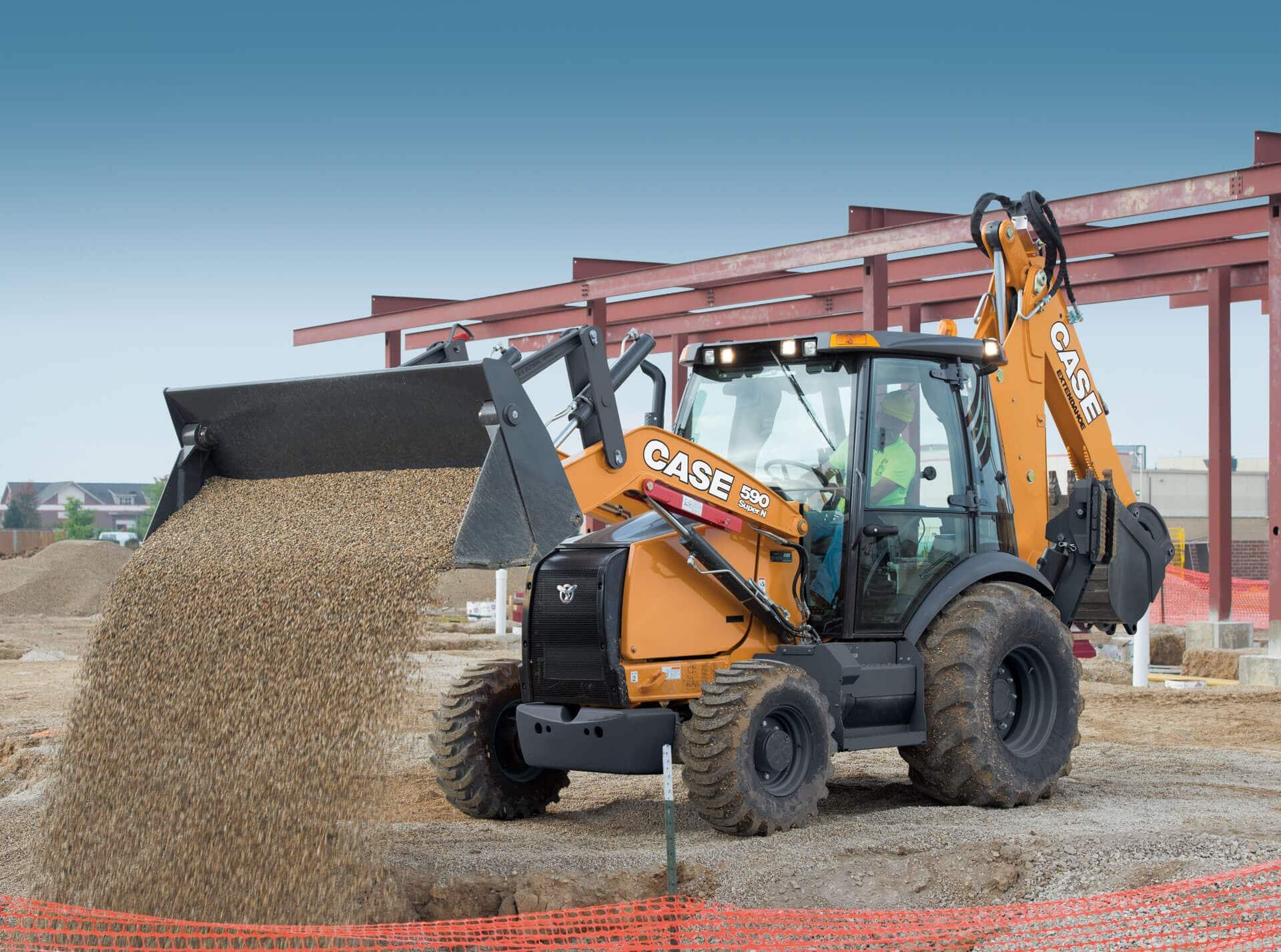 Case 590 Super N Backhoe Loader Case Construction Equipment