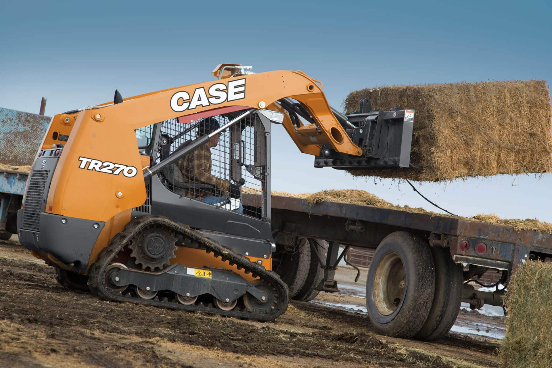 CASE TR270 Compact Track Loader | CASE Construction Equipment