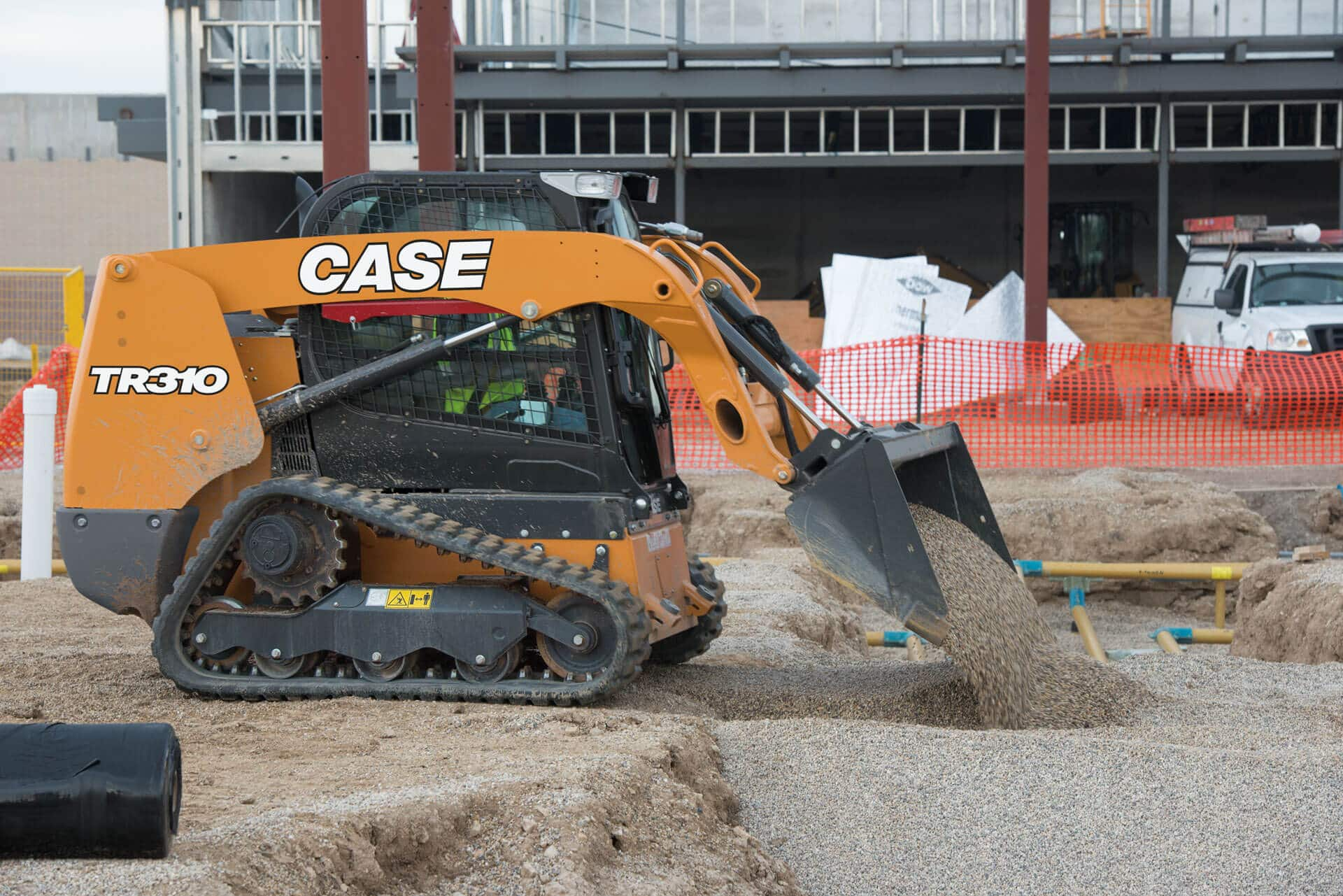 CASE TR310 Compact Track Loader | CASE Construction Equipment