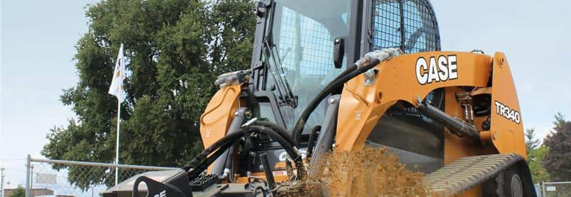 CASE TR340 Compact Track Loader | CASE Construction Equipment on