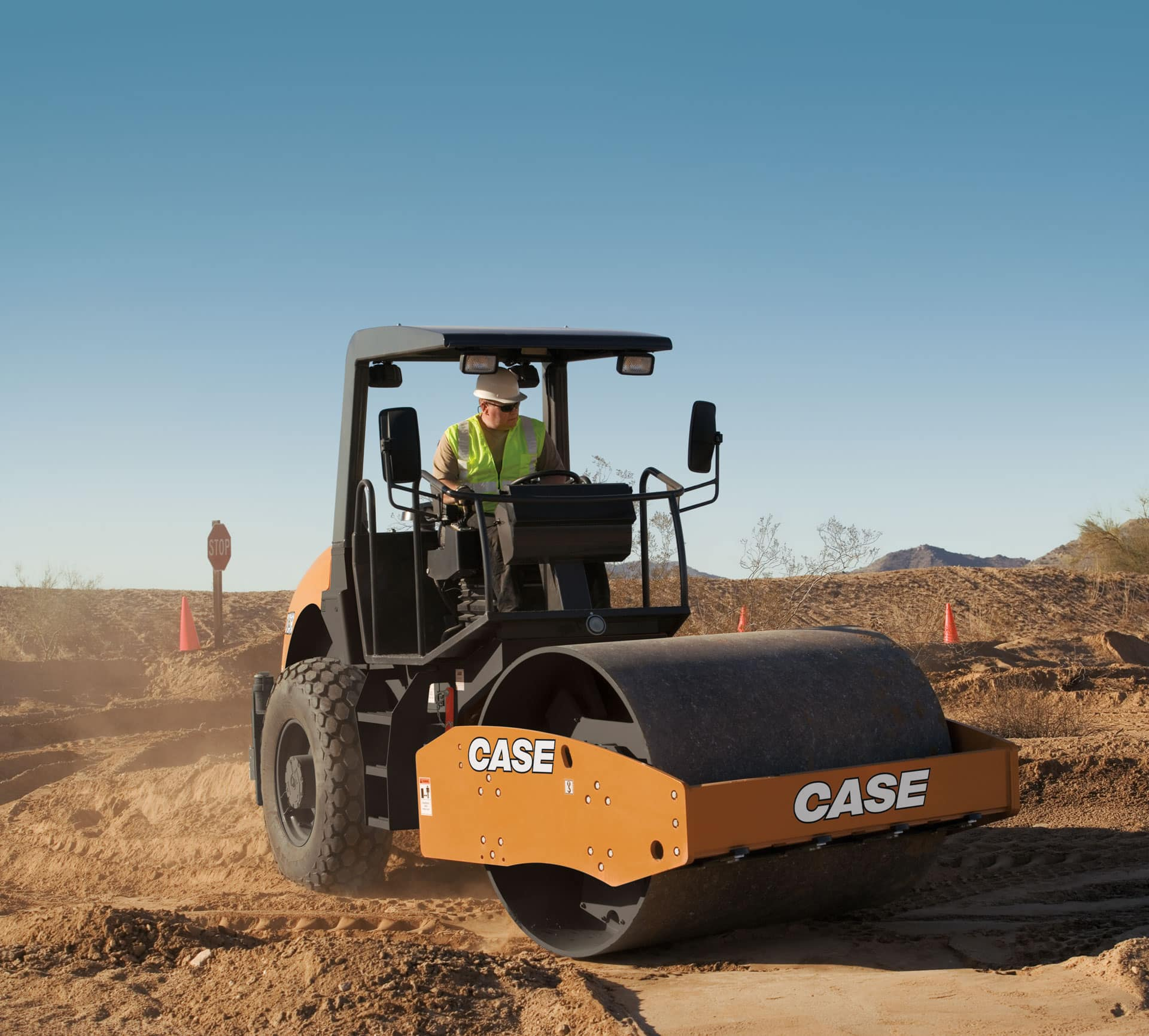 CASE SV208 Single Drum Roller | CASE Construction Equipment