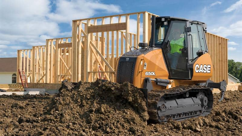 CASE 650L Dozer | CASE Construction Equipment