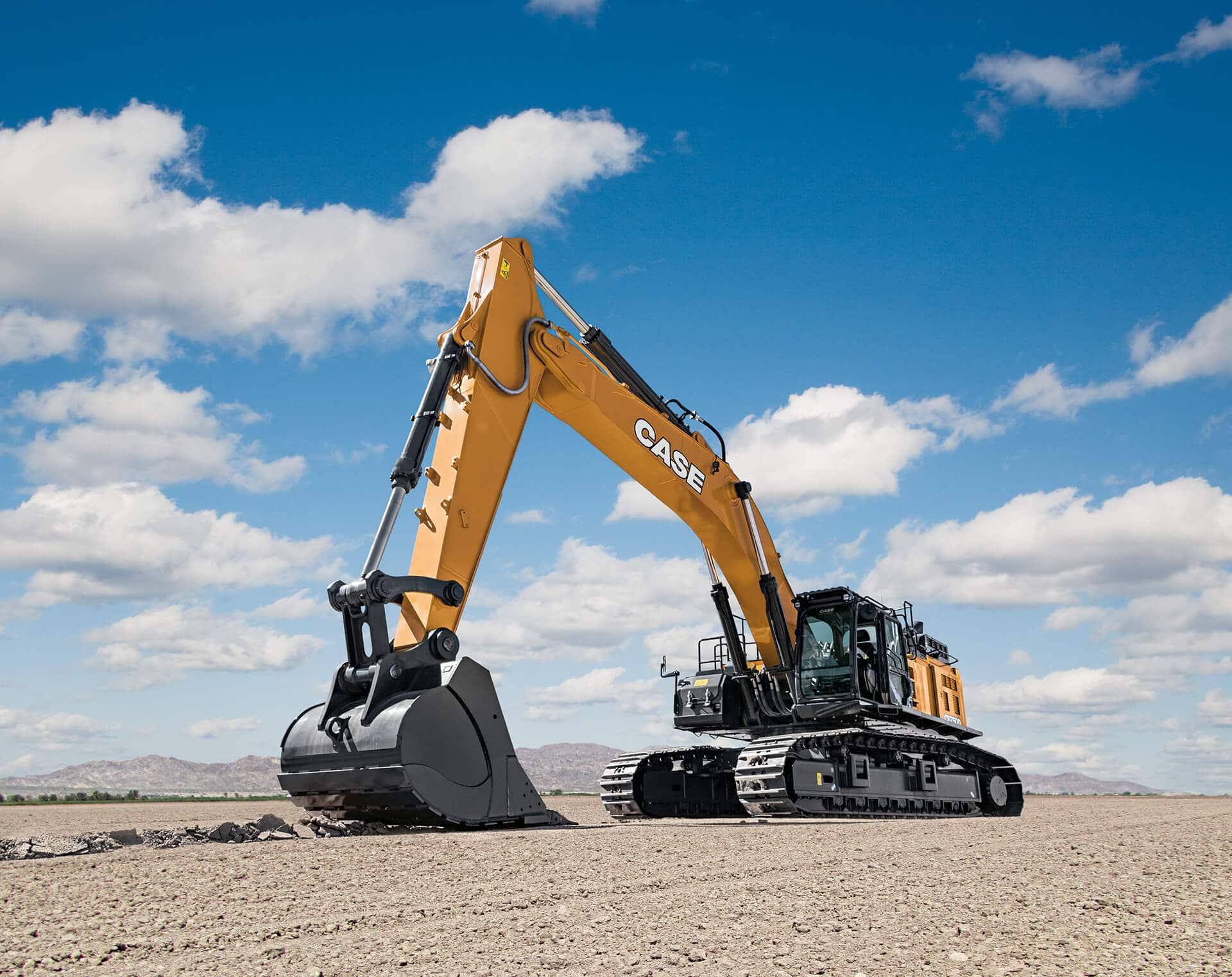 Case Cx750d Excavator Case Construction Equipment