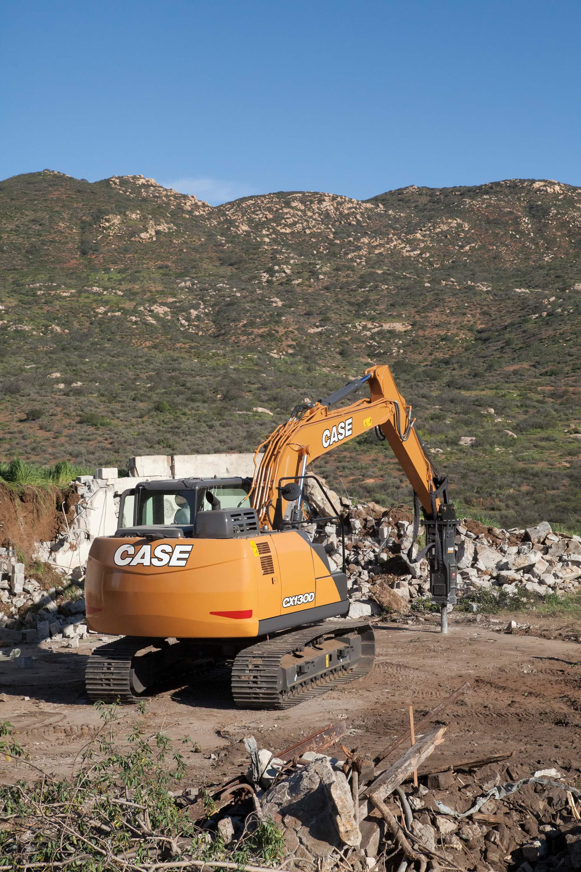 CASE CX130D Excavator | CASE Construction Equipment