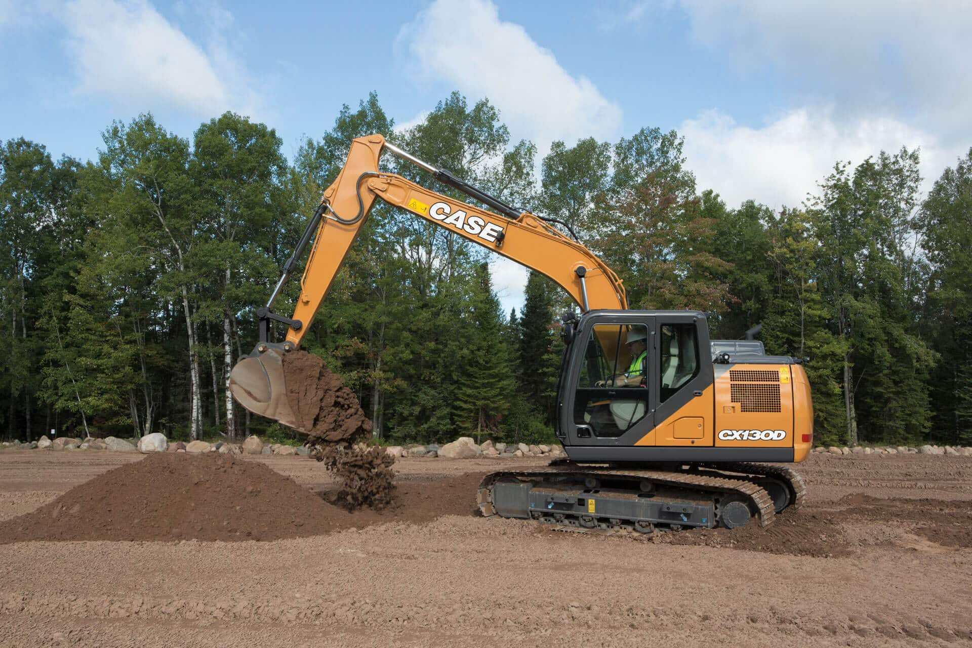 CASE CX130D Excavator | CASE Construction Equipment